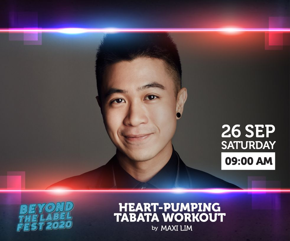 NCSS Presents Heart-pumping Tabata Workout by Maxi Lim