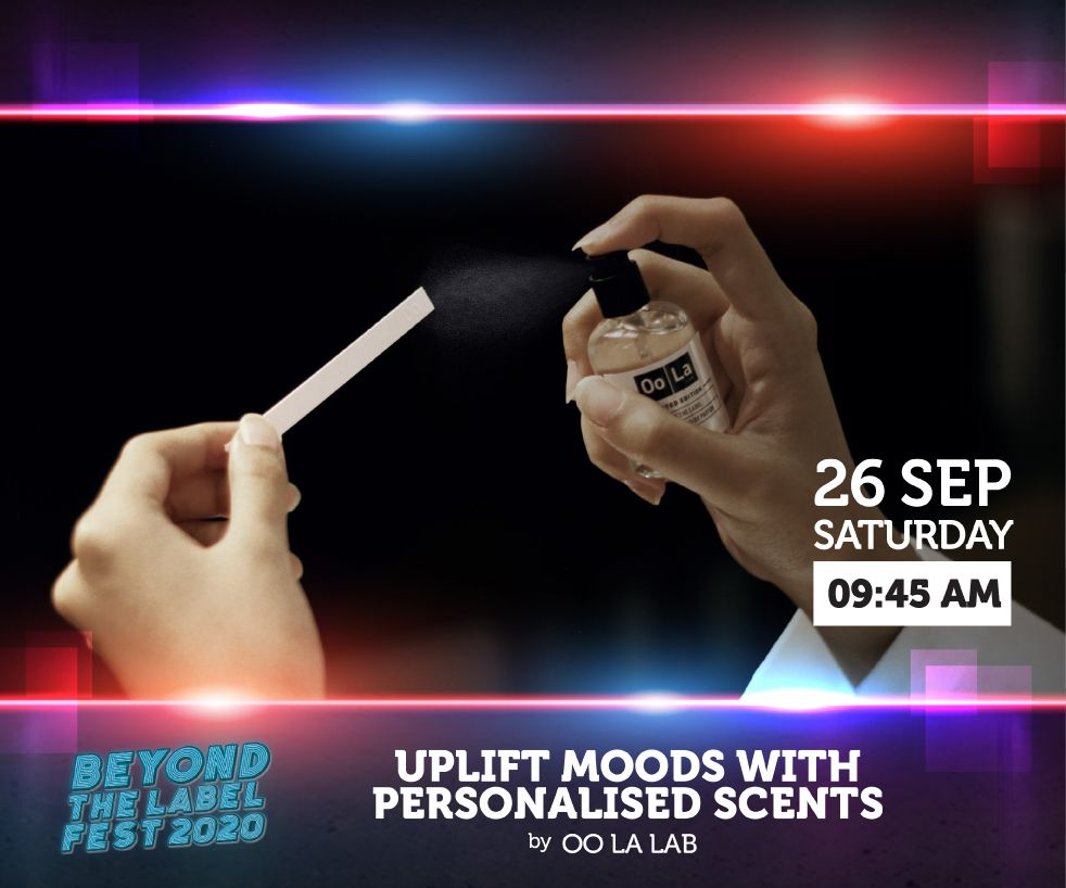 NCSS Presents Uplift Moods with Personalised Scents – by Oo La Lab