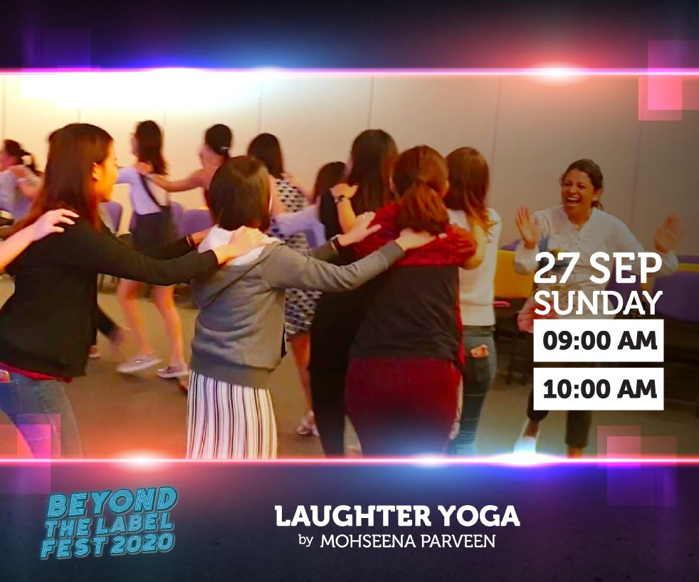 NCSS Presents Laughter Yoga – by Mohseena Parveen
