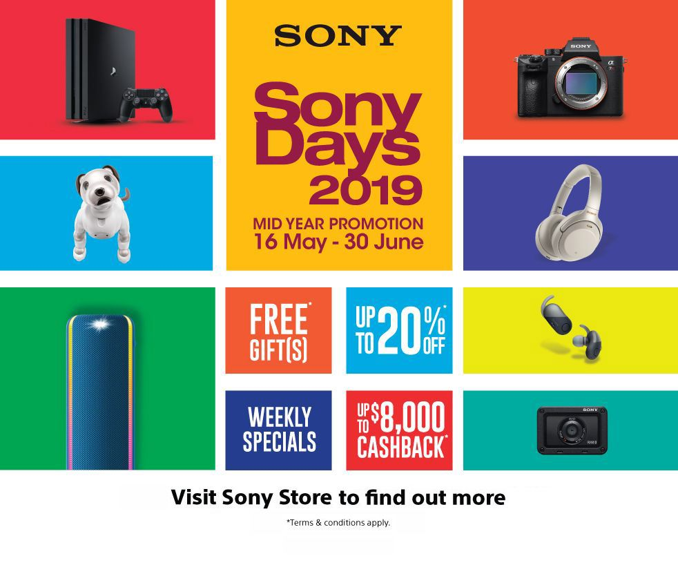 Sony Mid Year Promotion