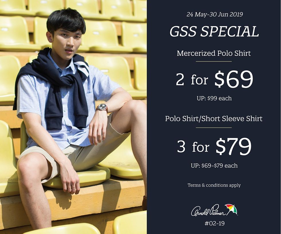 Arnold Palmer Outlet GSS Specials
