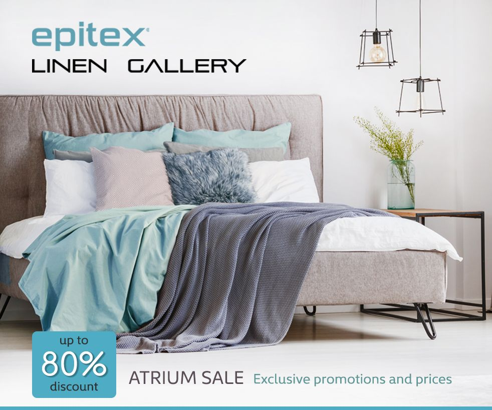 fbe8036ef8 Linen Gallery Outlet Atrium Roadshow | IMM