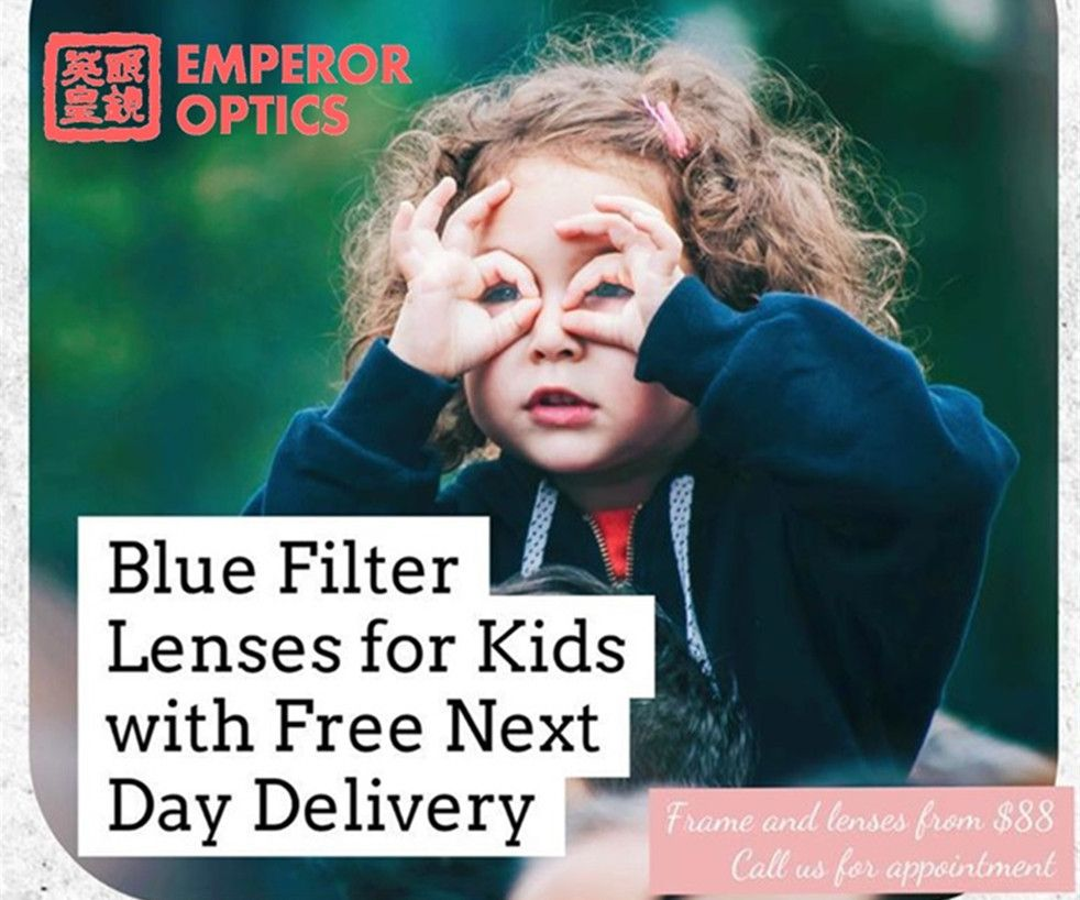 Blue Filter Lenses with Free Delivery