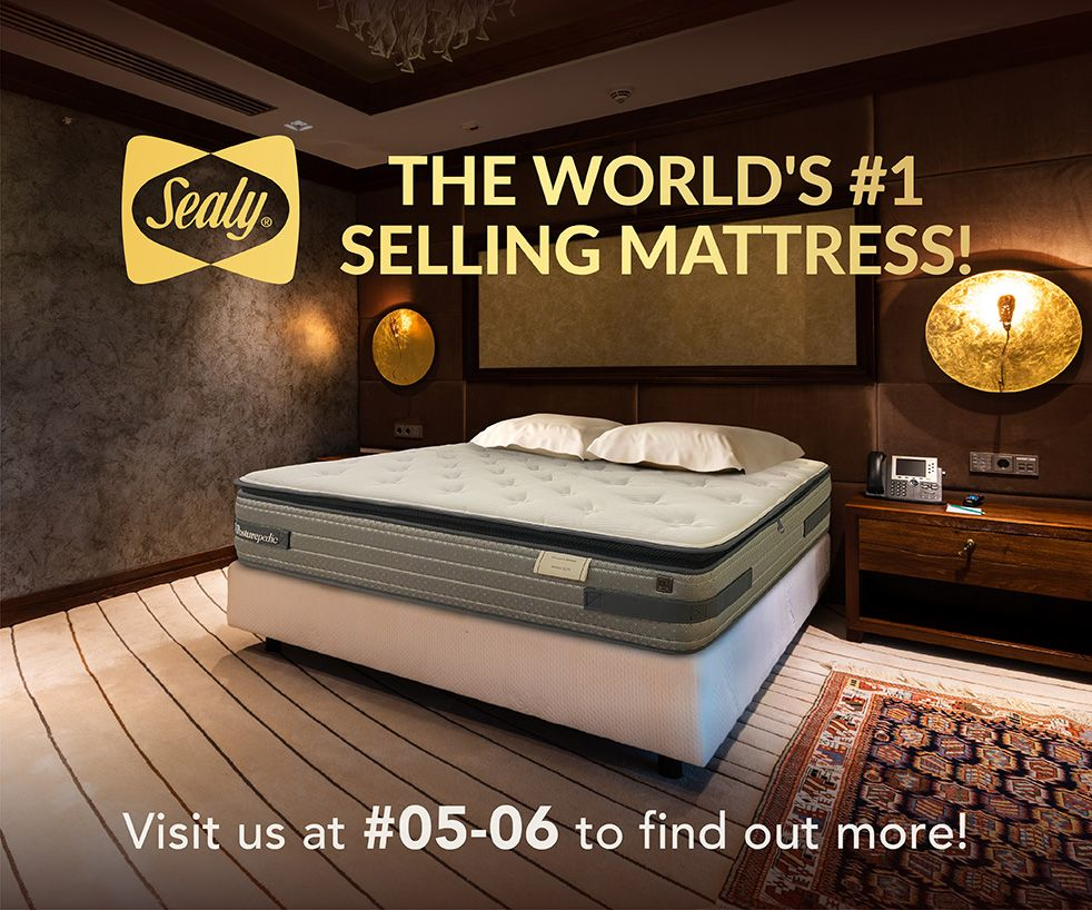 Sealy, the World's #1 Selling Mattress!