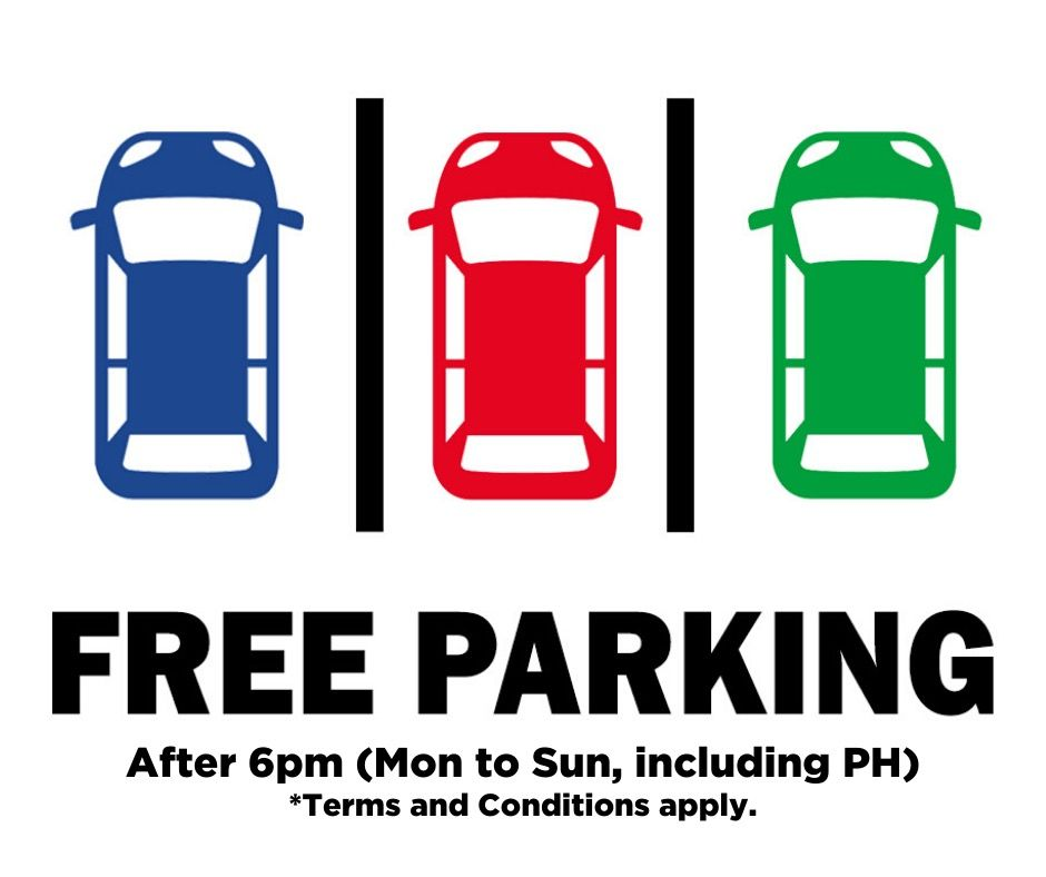Dine Out perks: Free Parking Daily!