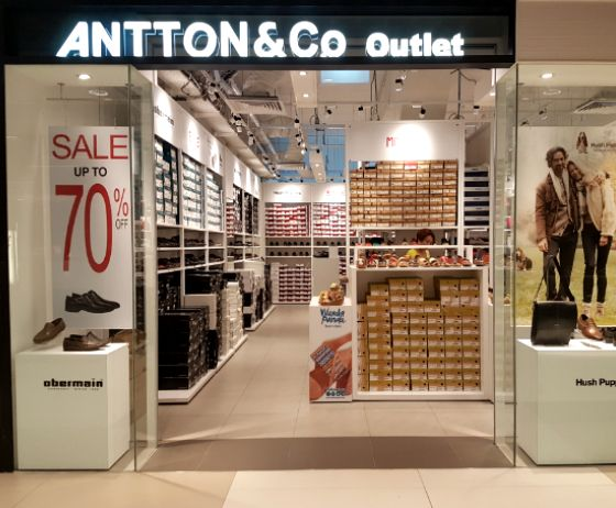 Hush Puppies Outlet and Antton & Co. Outlet