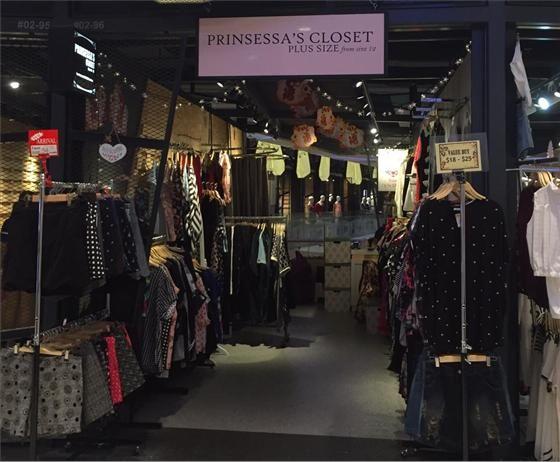 Prinsessas closet plus size