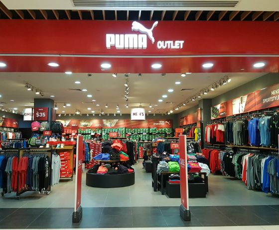 Puma Outlet PUMA is one of the world's leading Sport lifestyle companies that designs and develops footwear, apparel and accessories. PUMA starts in Sport and ends in Fashion.